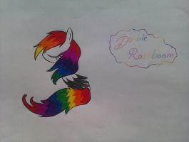 Double Rainboom?.. o3o by BeastyxLightning