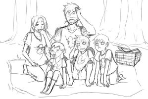 Family Picnic by SaiKats