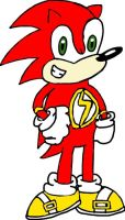 Sonic as The Flash by tanlisette