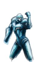 Dark Samus by MonsieurBaron