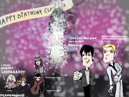 Vampire party XD by MekareMadness