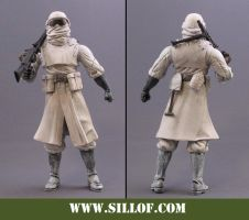 World Wars 1942:Winter Trooper by sillof