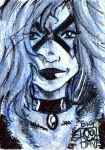 Black cat sketch card by BiggDave