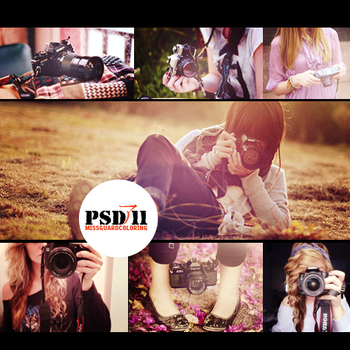 PSD Files 11 - Camera by MisSGuaRD