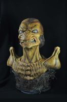 Pumpkinhead finished bust by Alter-Ego-Dezines