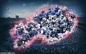Buffalo Bills Wallpaper by Sanoinoi