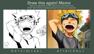 DRAW THIS AGAIN - Naruto by Iza-nagi