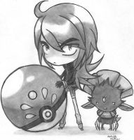 Silver And Weavile by AAKreations