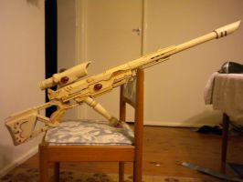 Eldar Ranger Long Rifle by SnuggleMoogle