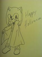 A.J. says happy halloween by MagicalPouchOfMagic