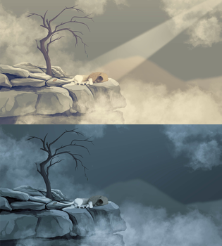 The warmth that sleep brings by Blue-Willow-Tree
