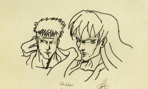 ryu and ken by shytype001