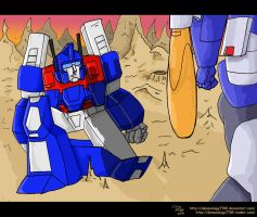 Transformers 30-21, One shall fall by Demonology7789