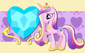 Princess Cadance WP by AliceHumanSacrifice0