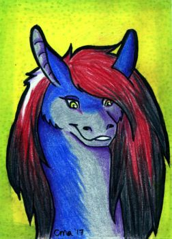 ACEO Smoky by WooflesArt