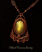 Golden Glow IV by blackcurrantjewelry