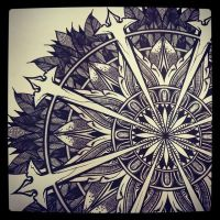 Day 139 of the Solstice Mandala Project by OrgeSTC