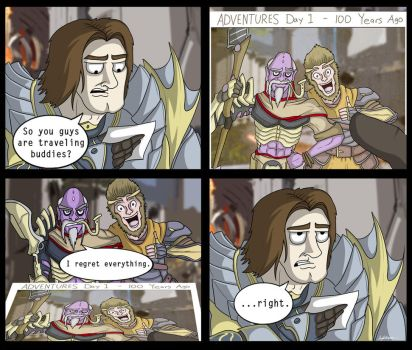 (Paragon Comic) - Wukong Returns by SneakyParagon
