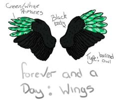 Forever and a Day: Wings ref by ComplexMagic