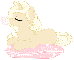 Ophelia : Tea On A Cushion by Laurel3aby