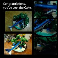 Lost the Cake. by wulfae