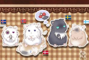 Nordic Hammies by BlackLadySango