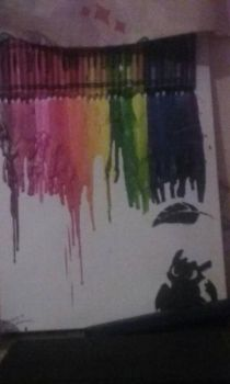 Crayon art by MickIsFearless