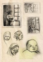 New Life Sketches by vuurvlam