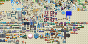 Pokemon DPPtHGSS Tileset by Lightbulb15