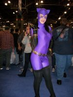 Purple Catwoman at nycc by lenlenlen1