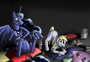 Royal Game Night by GildedOwl