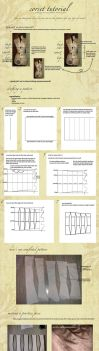 Corset Pattern Drafting Tutorial by KellaxProductions