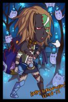 Azure Halloween: ORCA by silentclearlite