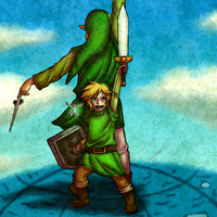 Link and the Hero of Winds by Zeepla
