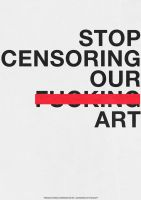 Controversy: Censorship Poster by RyanDevineOfficial