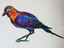 Sharpie Pheasant by NoNutritionalValue