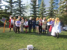 hetalia group of otafest 2013 by BlueWoundedWolf