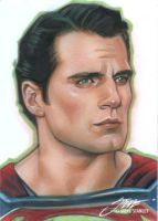 Henry Cavill, Man of Steel, Superman by SteveStanleyArt