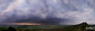 Peak District panorama by awropa
