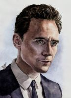 T. Hiddleston by KseniaParetsky