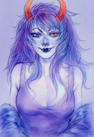 Perfect blue by alison-nyash