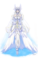 Bridal Gown 'Valkyrie' by StellarStateLogic