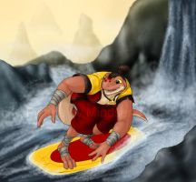 Surfing the River Wild by mindsend
