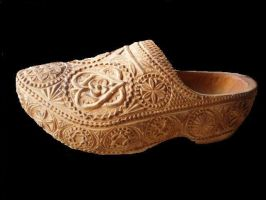 woodenshoe decoration by woodcarve