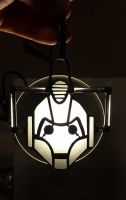 Cyberman Ornament 1.0 by DarkeVitrum