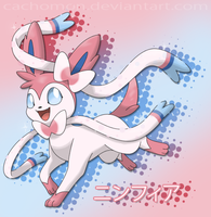 Ninfia / Sylveon - New 6th gen. Eeveelution by Cachomon