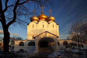The Novodevichy Convent by Nickdan