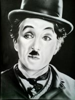 Charlie Chaplin by shadagishvili