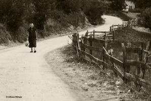 The path she walked by lpetrusa