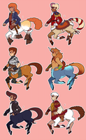 Centaur Boy Adoptables [Closed] by fungiicide